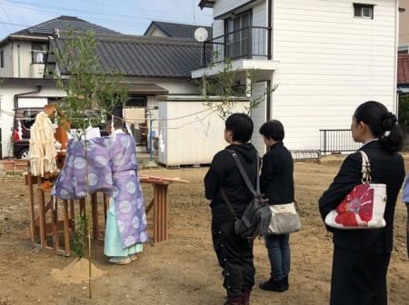 10月27日(日)は、地鎮祭ラッシュでした!