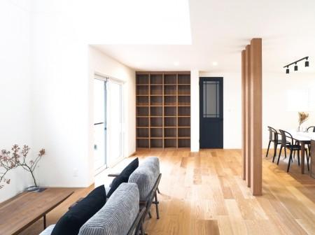 上質な内装で作るシンプルで豊かな暮らし
