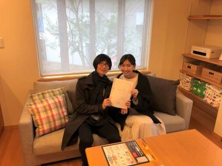 豊田市M様 ご契約おめでとうございます♪